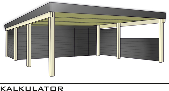carport steel carport kalkulator und carport preise krinner schraubfundamente bei badura. Black Bedroom Furniture Sets. Home Design Ideas