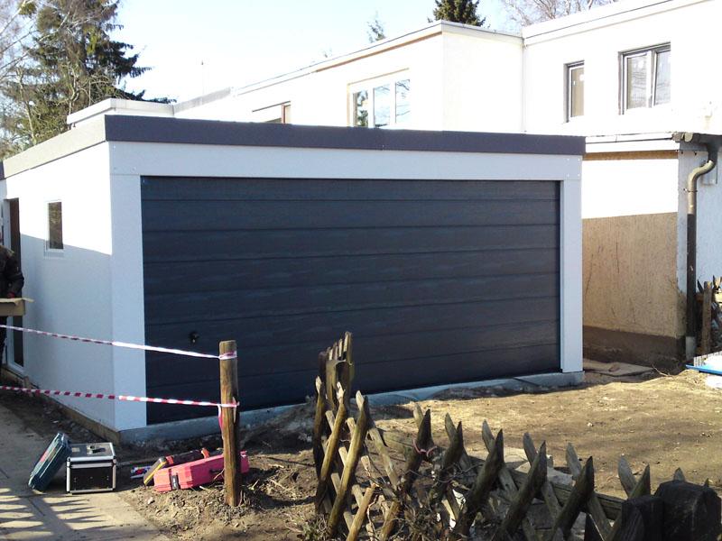 Fertiggarage  BigBox Garage als Großraumgarage