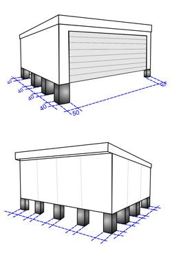 punktfundament garage das passende fundament f rs carport das ist zu beachten pin garage kvh