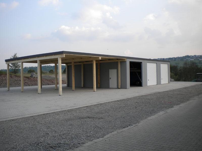 fertiggarage garagen carport kombination 7. Black Bedroom Furniture Sets. Home Design Ideas