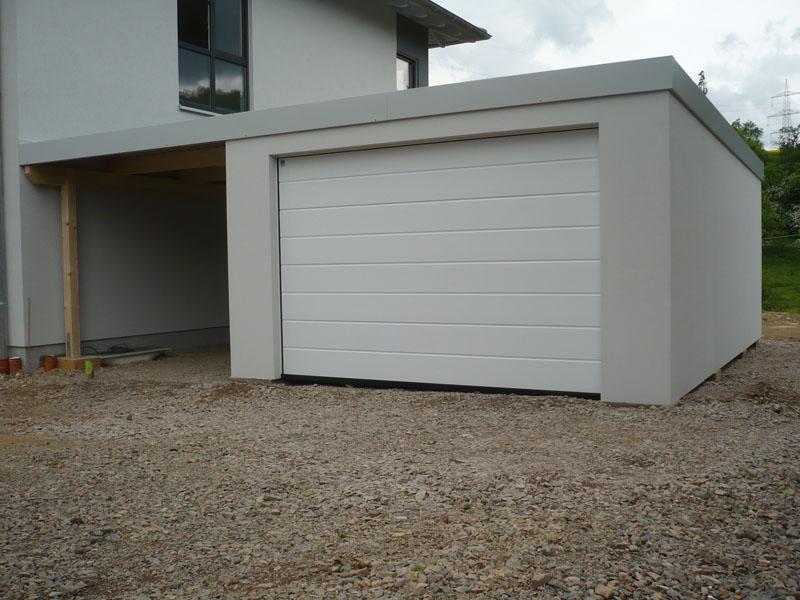 fertiggaragen garagen carport komnbination n 2. Black Bedroom Furniture Sets. Home Design Ideas