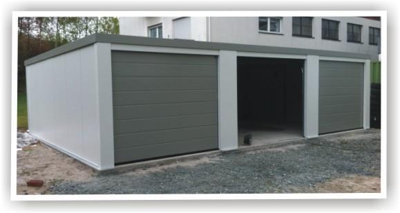 betongarage weiae mit elektrischem tor beton garagenboden