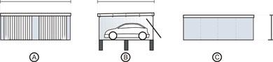 Häufig Fertiggaragen Grundrisse - Fertiggaragen & Carports VJ76