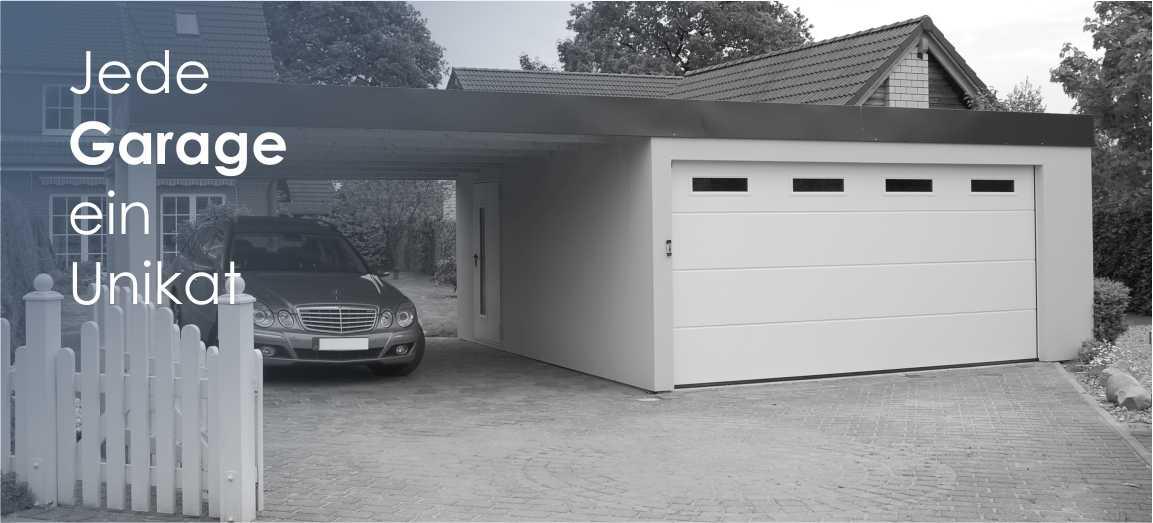 Relativ Fertiggaragen und Carports von systembox Garagen GmbH MD63