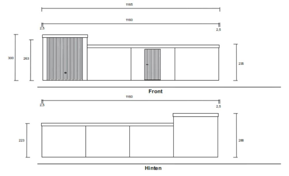 fertiggaragen mit privater und gewerblicher nutzung. Black Bedroom Furniture Sets. Home Design Ideas