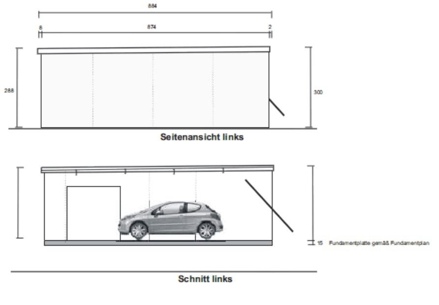 Fertiggaragen Mit Privater Und Gewerblicher Nutzung Parken Und