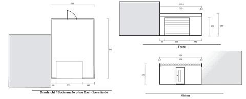 Bauzeichnung Garage theorie und praxis stimmen überein gute erfahrung auf einer