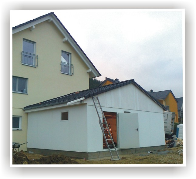 Geliebte Garagen aus Holz, Stahl & Beton QQ88