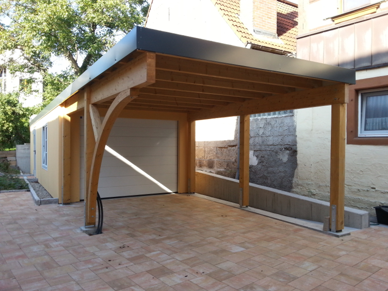 Garagen Carport Kombination 6